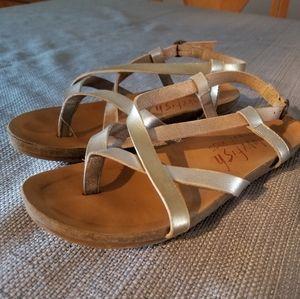 Blowfish sandals, girls size 1